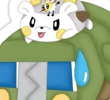 Pokemon hype train Sticker