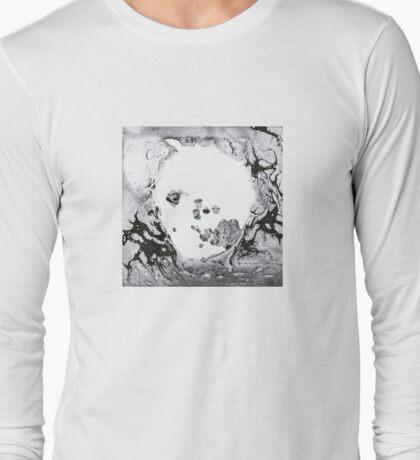 radiohead - a moon shaped pool artwork Long Sleeve T-Shirt