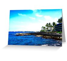 Coast of Hawaii Greeting Card