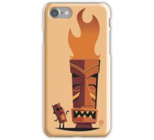 The Devil Bot and the Tiki -phn iPhone Case/Skin