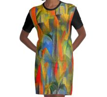 rain forest Graphic T-Shirt Dress