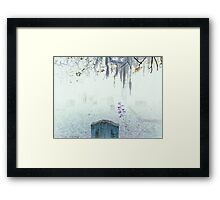 Low Country - In our Mist  Framed Print