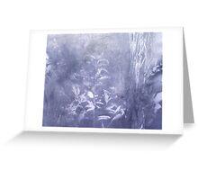 periwinkle blue rush Greeting Card