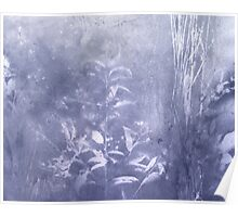 periwinkle blue rush Poster