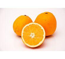 orange fruit Photographic Print