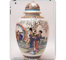 Japanese vase iPad Case/Skin