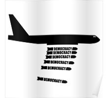 Bombing for Democracy? Drone Attacks / Drone Warfare  Poster