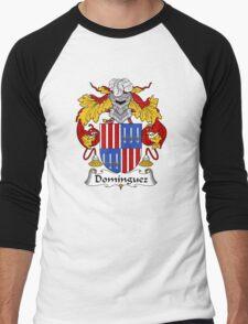 Dominguez Coat of Arms/ Dominguez Family Crest Men's Baseball ¾ T-Shirt