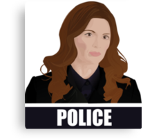 Detective Kate Beckett Canvas Print