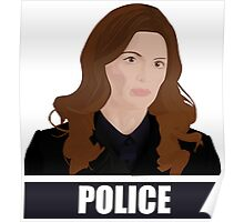 Detective Kate Beckett Poster