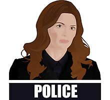 Detective Kate Beckett Photographic Print