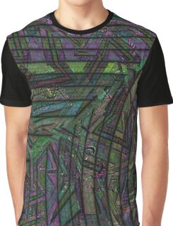 Fractal Graffiti 1 Graphic T-Shirt