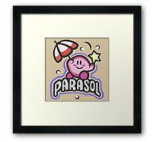 Kirby Parasol Framed Print