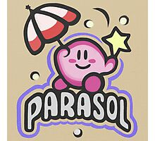 Kirby Parasol Photographic Print