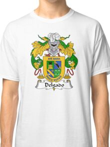 Delgado Coat of Arms/Family Crest Classic T-Shirt