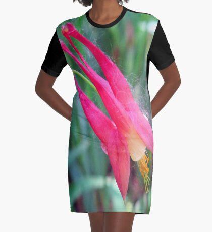 little pink Graphic T-Shirt Dress
