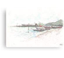 Trails - Koh Samui, Thailand Canvas Print