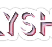 Alysha Sticker
