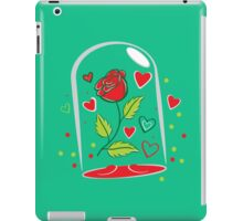 Withering Rose in a  glass jar iPad Case/Skin