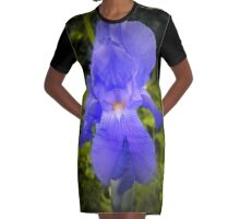 iris Graphic T-Shirt Dress