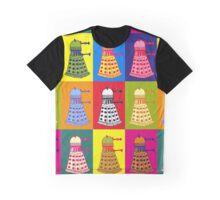 Andy Warhol Daleks Graphic T-Shirt