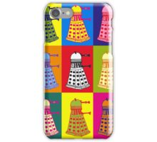 Andy Warhol Daleks iPhone Case/Skin