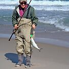 "Bringing home the ""bacon"" - Fresh Bluefish by MotherNature"