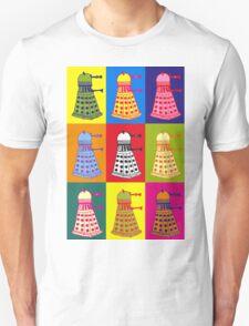 Andy Warhol Daleks Unisex T-Shirt