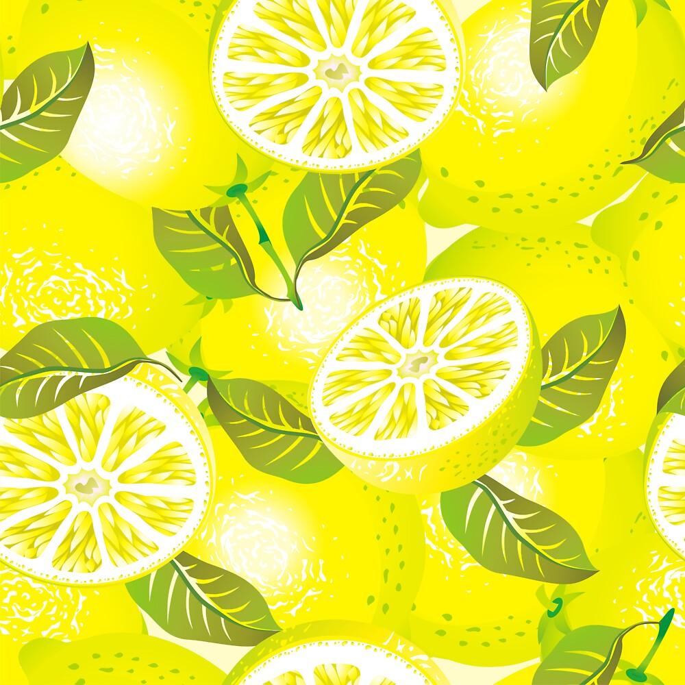 Lemon background by maystra