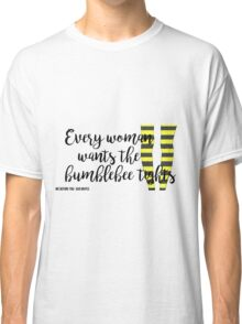 The Bumblebee Tights| Me Before You- Jojo Moyes Classic T-Shirt