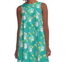 Folksy Flappers A-Line Dress