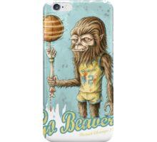 Go Beavers! (full colour) iPhone Case/Skin
