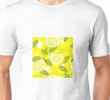 Lemon background Unisex T-Shirt