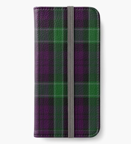 01312 Portland Playa's Fashion Tartan  iPhone Wallet/Case/Skin