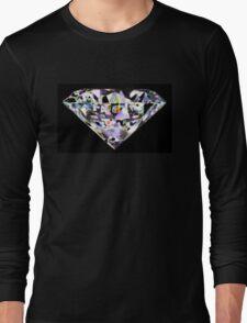 dazzle diamond black Long Sleeve T-Shirt