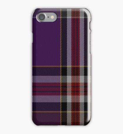 01311 Milwaukee Masters Fashion Tartan  iPhone Case/Skin