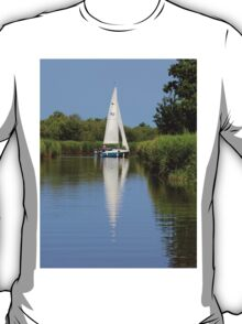 Sailing on the Norfolk Broads T-Shirt