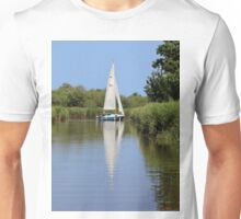 Sailing on the Norfolk Broads Unisex T-Shirt