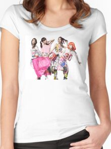 Scandal Yoake No Ryuuseigun Women's Fitted Scoop T-Shirt