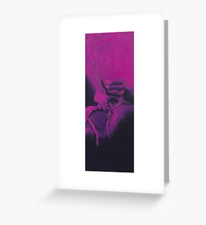 """""""Pink No. 1"""" Greeting Card"""