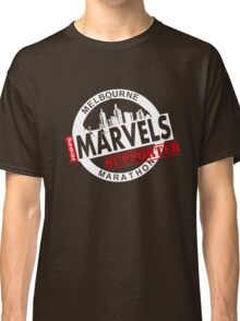 Melbourne Marvel Supporters Range white  Classic T-Shirt
