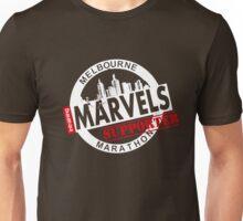 Melbourne Marvel Supporters Range white  Unisex T-Shirt