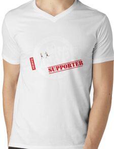 Melbourne Marvel Supporters Range white  Mens V-Neck T-Shirt