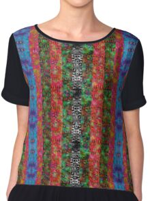 Field of Psychedelic Nightmares Chiffon Top