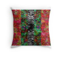 Field of Psychedelic Nightmares Throw Pillow