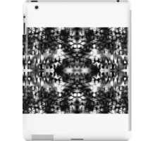 Field of Black and White TV iPad Case/Skin