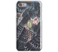 Curios lil beasty iPhone Case/Skin