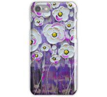 Purple Rain Blossoms IV iPhone Case/Skin