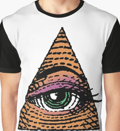 Her Eye In The Pyramid #3 Graphic T-Shirt