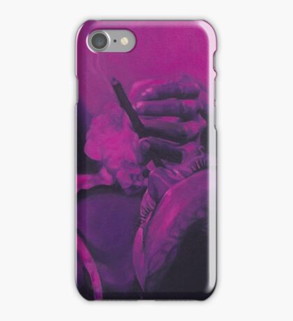"""Pink No. 1"" iPhone Case/Skin"